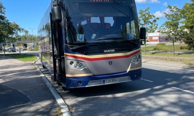 Juupajoen työmaa siirtää bussit kiertotielle